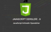 JavaScript Aritmetik Operatörler