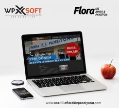 Flora Kız Pansiyonu Nazilli Web Tasarım