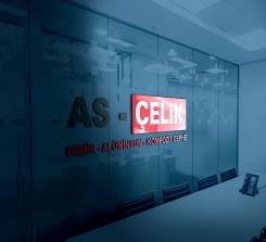 AS - ÇELİK Logo Çalışması
